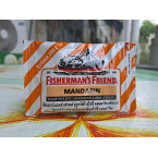 МЕНТОЛОВЫЕ ЛЕДЕНЦЫ ОТ КАШЛЯ И БОЛИ В ГОРЛЕ СО ВКУСОМ МАНДАРИНА FISHERMAN`S FRIEND MANDARIN