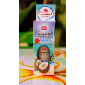 КОКОСОВАЯ СЫВОРОТКА ДЛЯ ВОЛОС.Coconut Hair Serum Banna