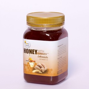 ИМБИРНЫЙ МЕД 100 % НАТУРАЛЬНЫЙ FORA BEE, 500 г